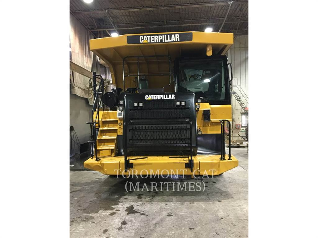 Caterpillar 773F, Articulated Dump Trucks (ADTs), Construction