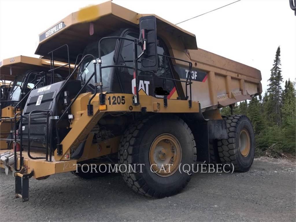 Caterpillar 773F, Transportoare articulate, Constructii