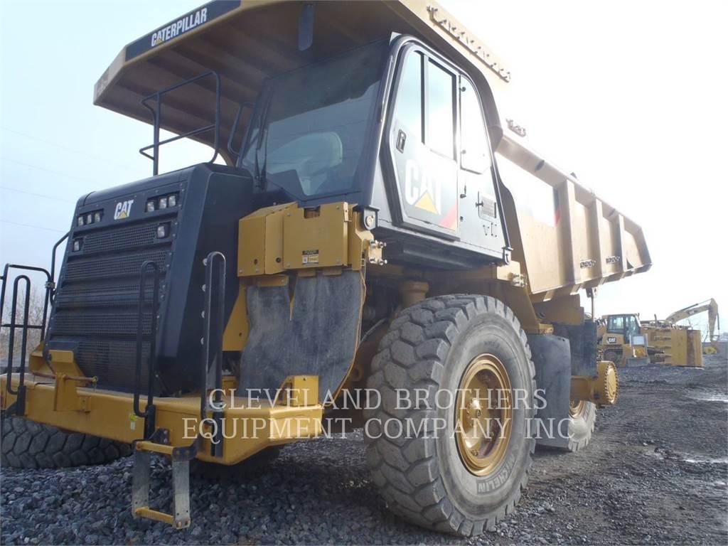 Caterpillar 773G, Dumper - Knickgelenk, Bau-Und Bergbauausrüstung