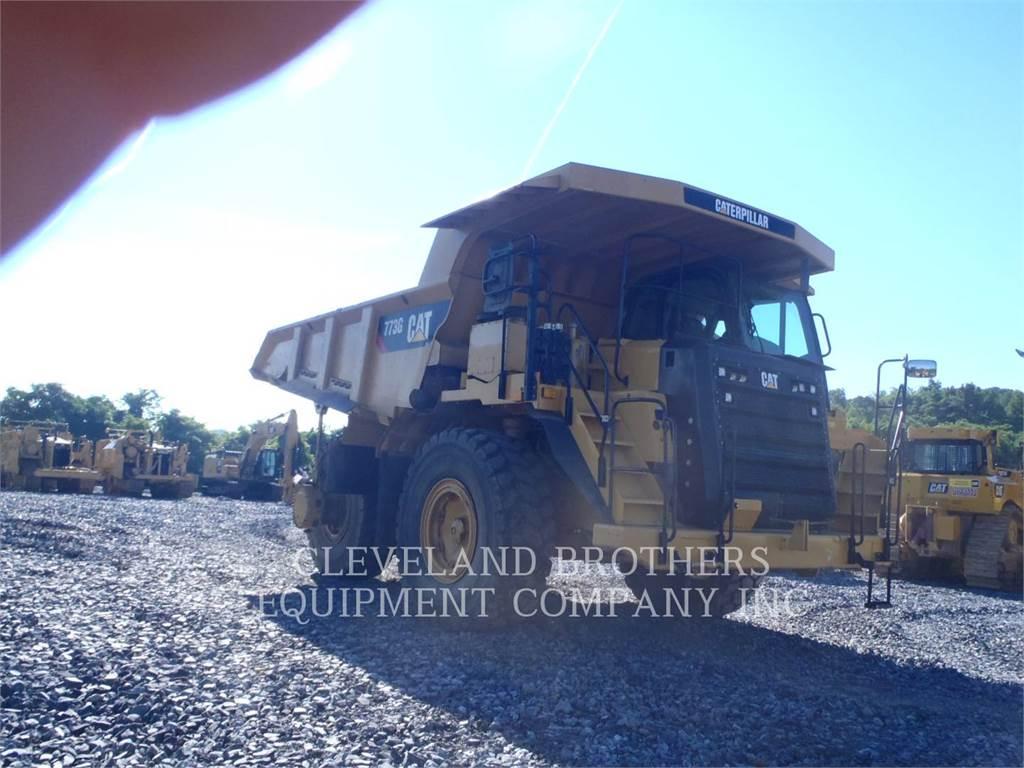 Caterpillar 773G, Articulated Dump Trucks (ADTs), Construction