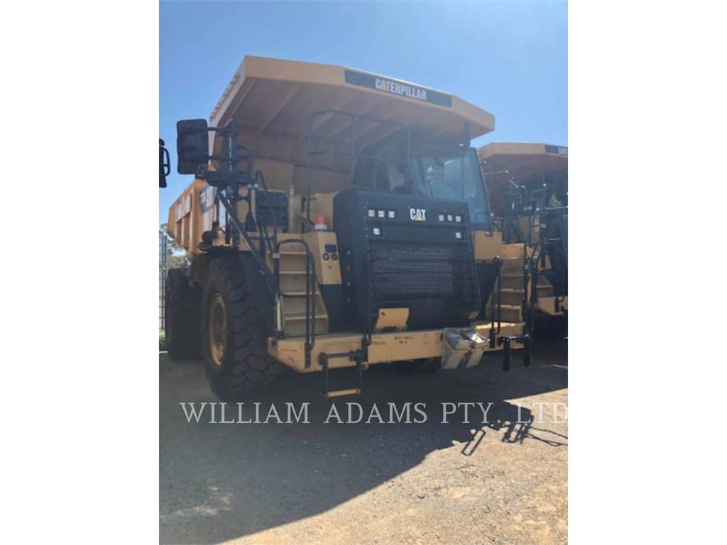 Caterpillar 773G, Articulated Dump Trucks (ADTs), Construction