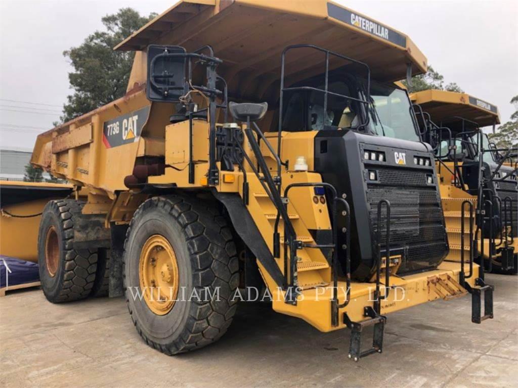 Caterpillar 773G, Transportoare articulate, Constructii