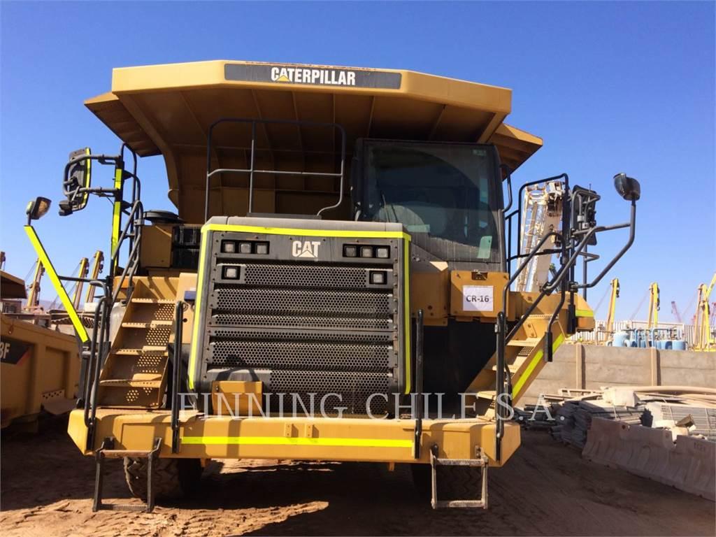 Caterpillar 773GLRC、アーティキュレート式ダンプトラック、建設