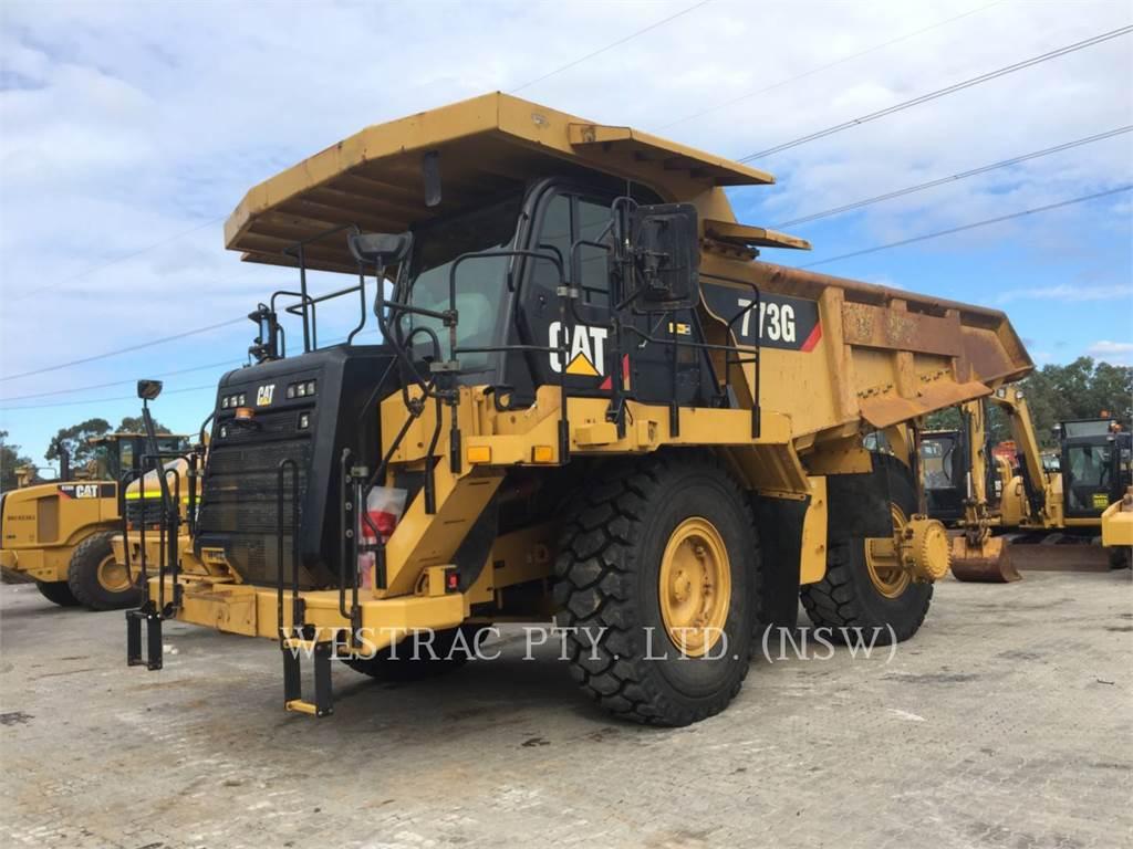 Caterpillar 773GLRC, Transportoare articulate, Constructii