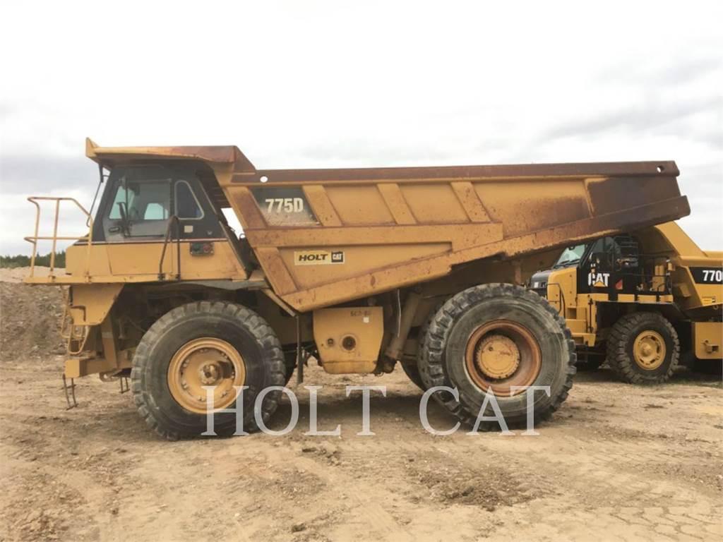 Caterpillar 775D, Articulated Dump Trucks (ADTs), Construction