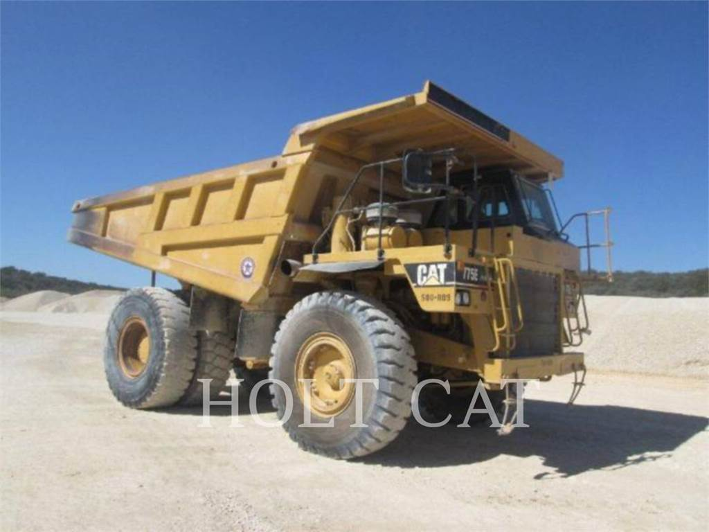 Caterpillar 775E, Articulated Dump Trucks (ADTs), Construction