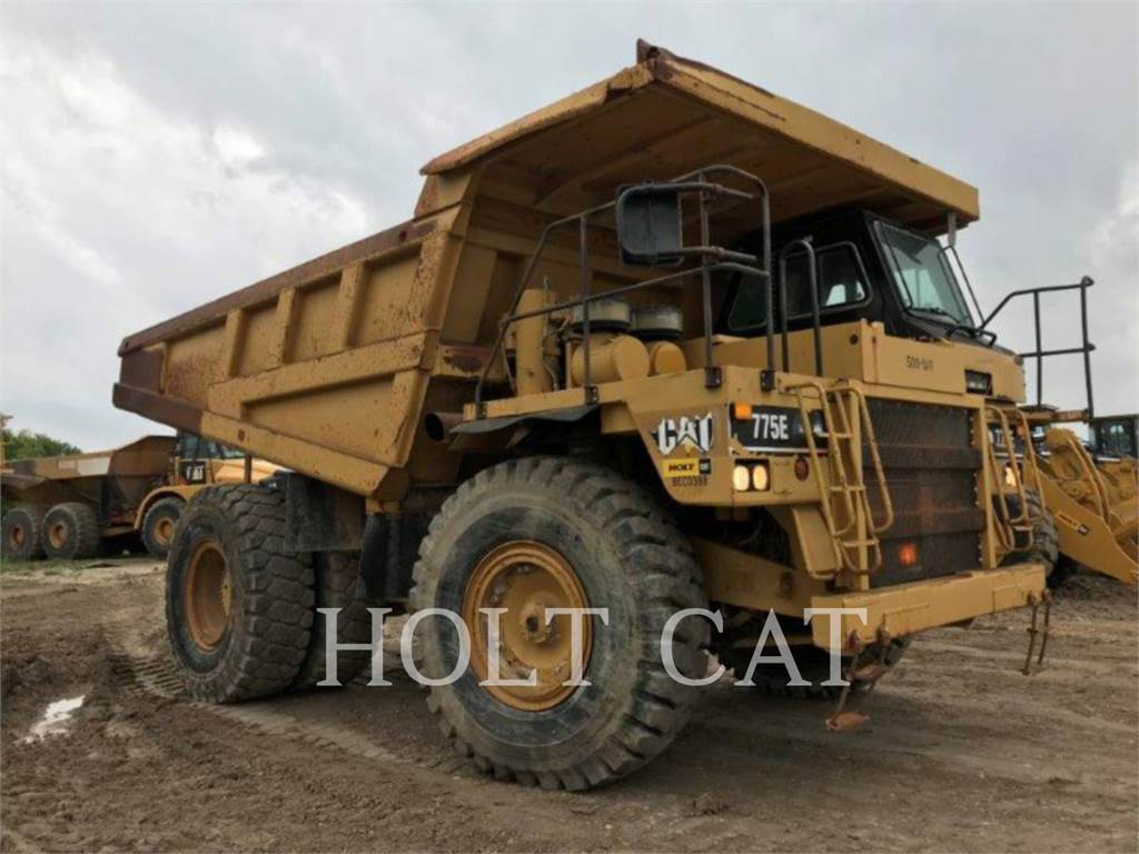 Caterpillar 775E, Dumper - Knickgelenk, Bau-Und Bergbauausrüstung