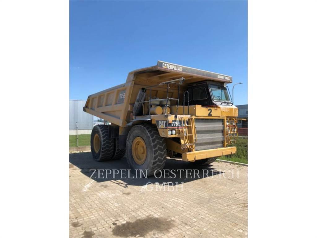 Caterpillar 775E, Articulated Dump Trucks (ADTs), Construction