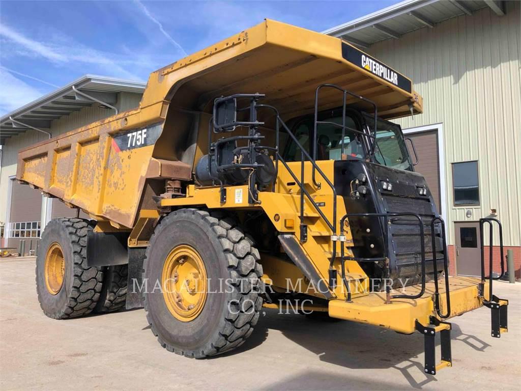 Caterpillar 775F、铰接式自卸车、建筑设备