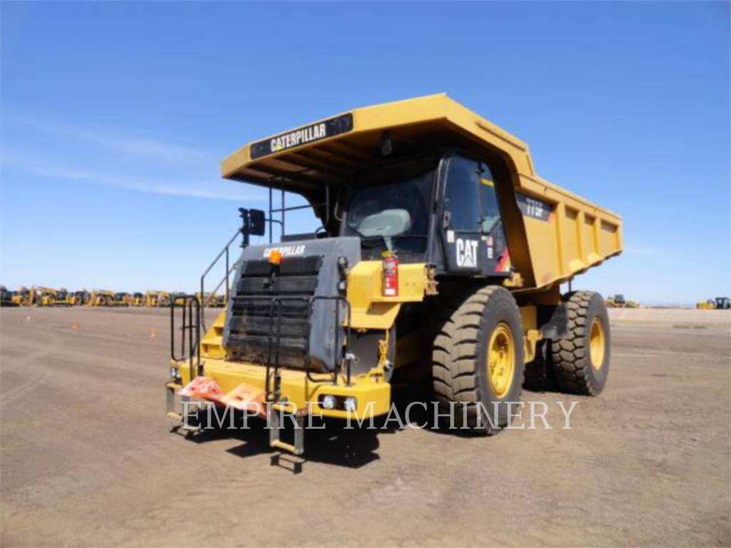 Caterpillar 775F, Transportoare articulate, Constructii