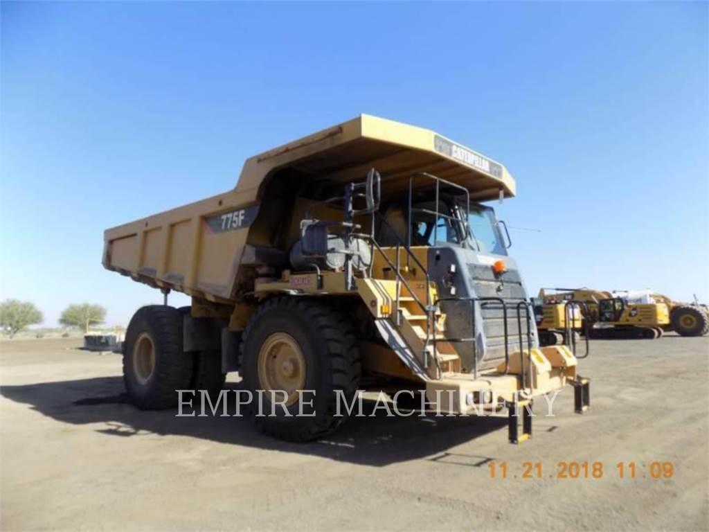 Caterpillar 775F, Articulated Dump Trucks (ADTs), Construction