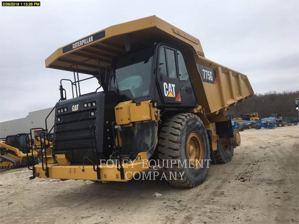 Caterpillar 775G, Camiões articulados, Equipamentos Construção