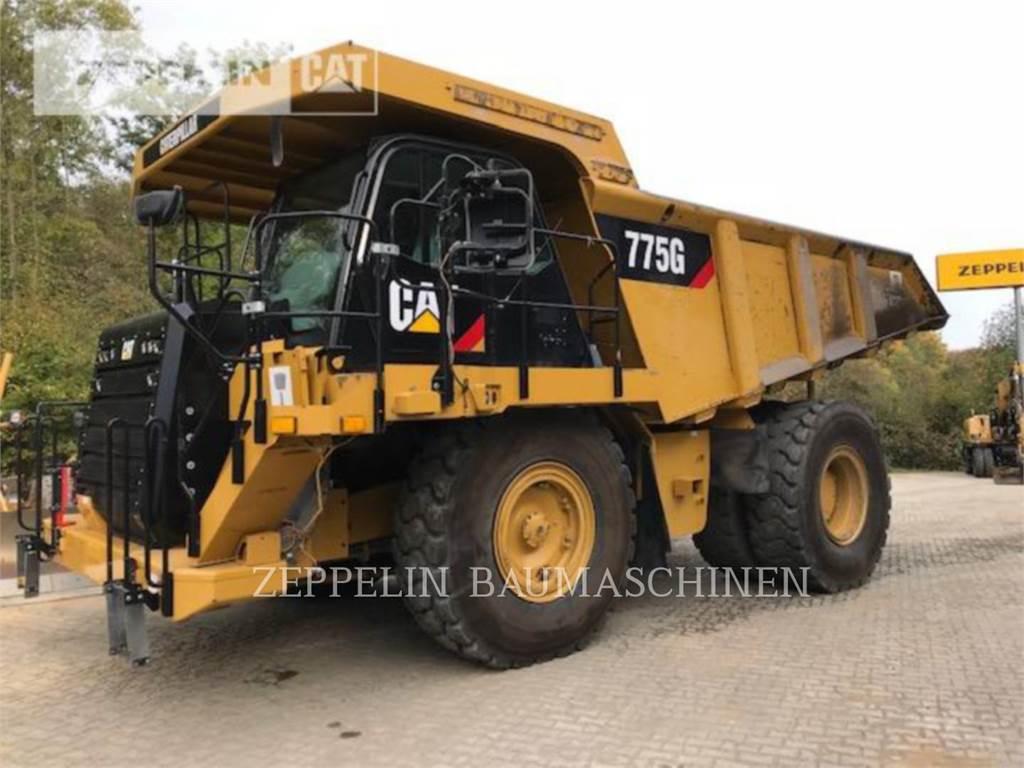 Caterpillar 775GLRC, Articulated Dump Trucks (ADTs), Construction