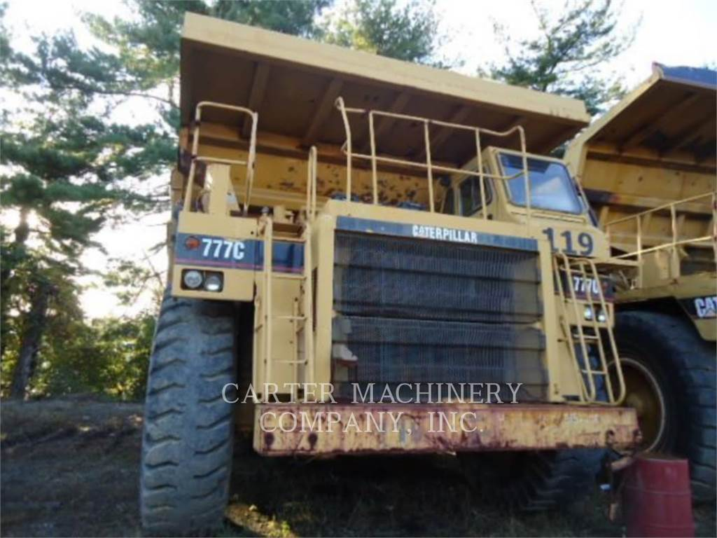 Caterpillar 777C, Articulated Dump Trucks (ADTs), Construction