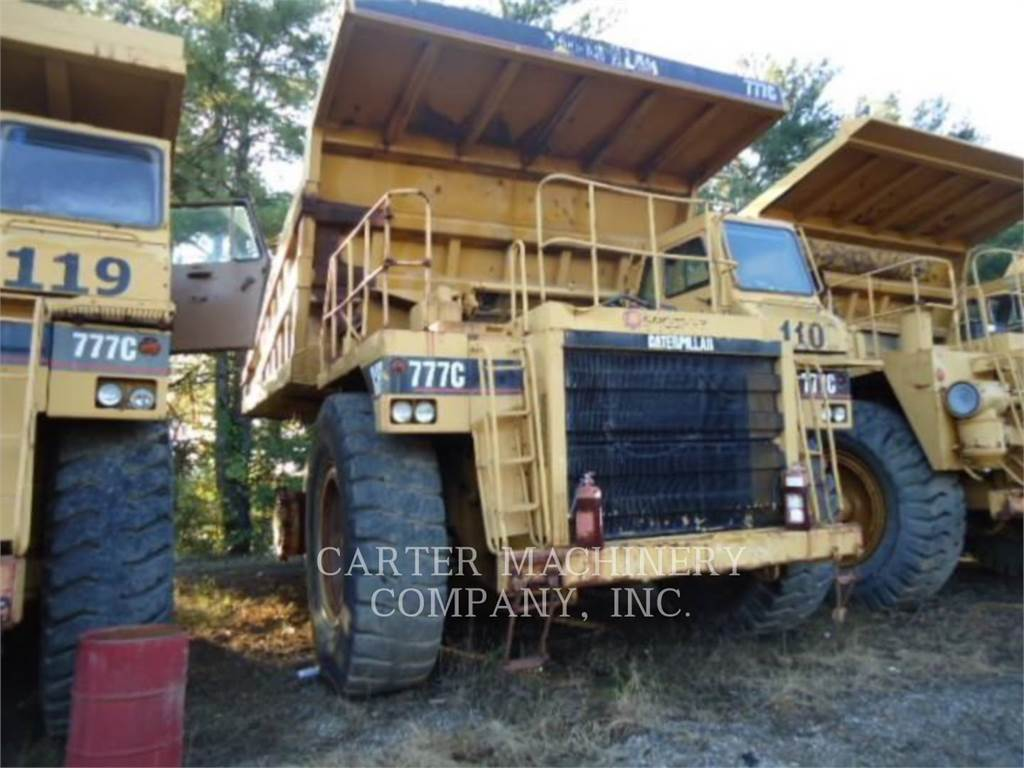 Caterpillar 777C, Articulated Dump Trucks (ADTs), Construction