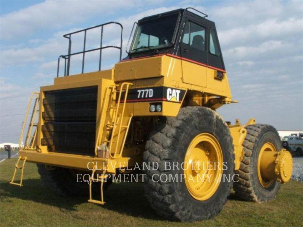 Caterpillar 777D, Articulated Dump Trucks (ADTs), Construction