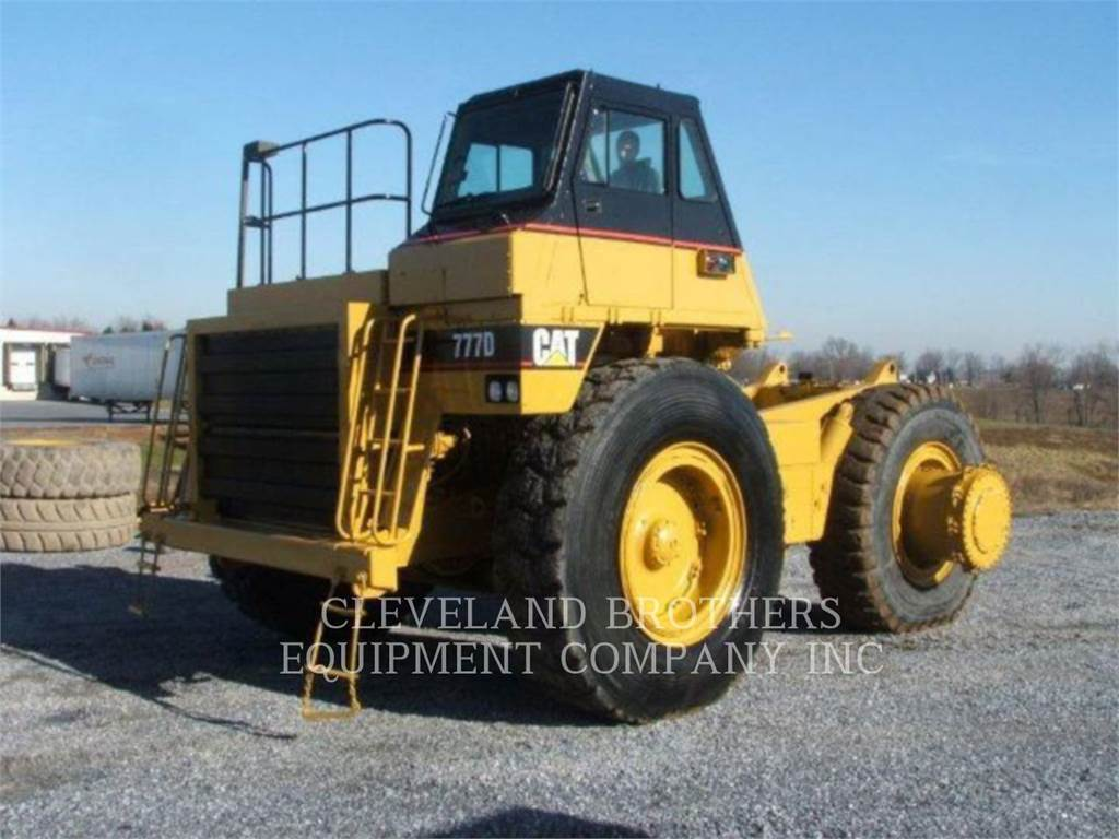 Caterpillar 777D, Transportoare articulate, Constructii