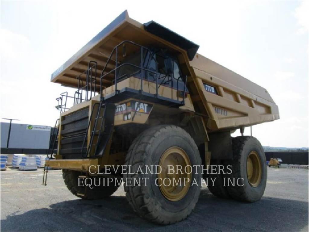 Caterpillar 777D, Dumper - Knickgelenk, Bau-Und Bergbauausrüstung