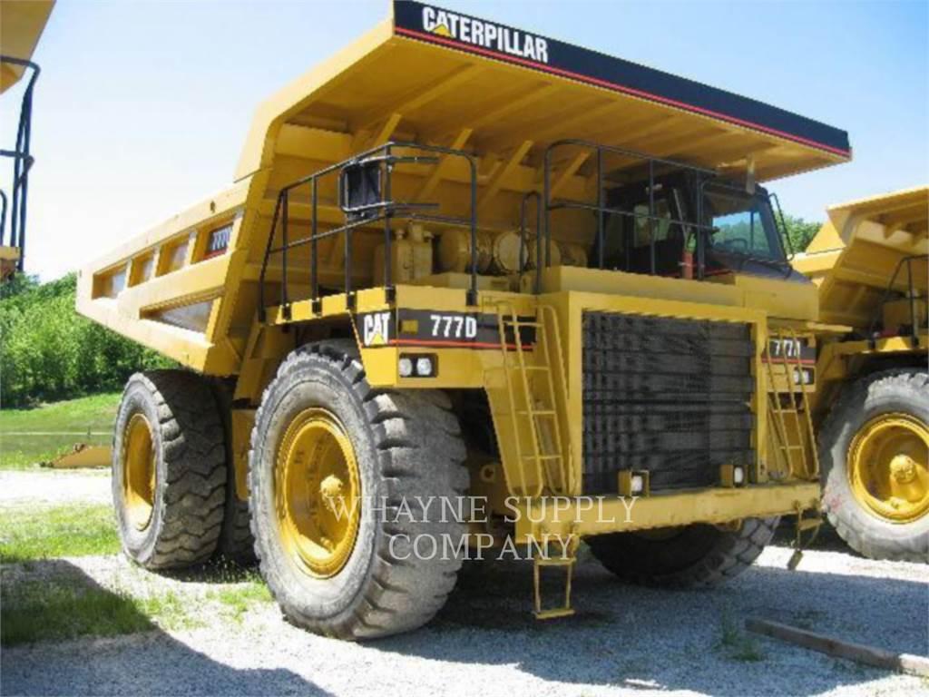 Caterpillar 777D, Tombereau articulé, Équipement De Construction