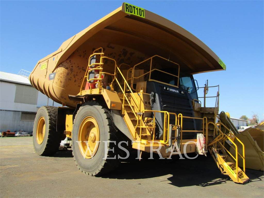 Caterpillar 777F, Transportoare articulate, Constructii