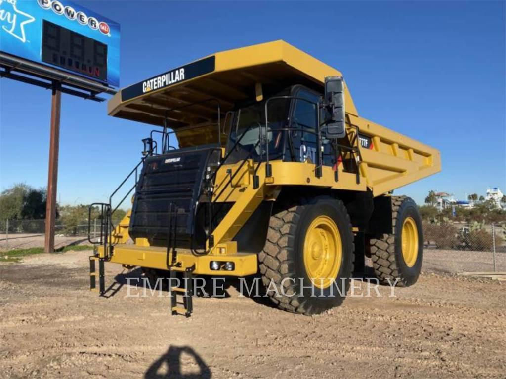 Caterpillar 777F、铰接式自卸车、建筑设备