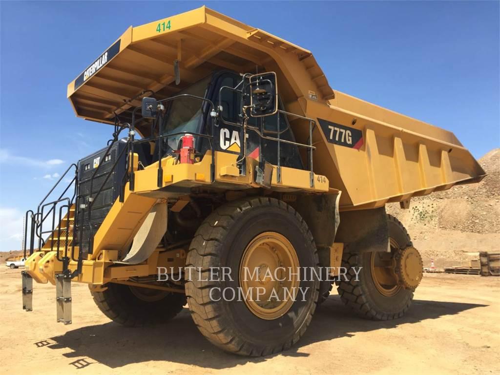 Caterpillar 777G、铰接式自卸车、建筑设备