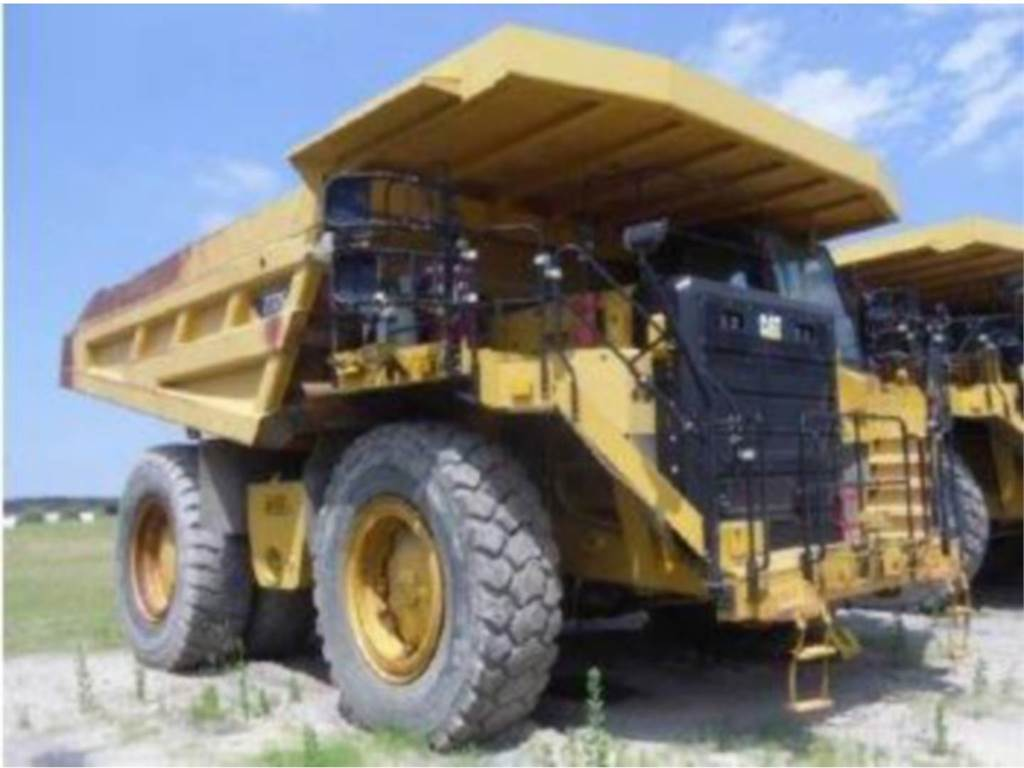 Caterpillar 777G, Transportoare articulate, Constructii