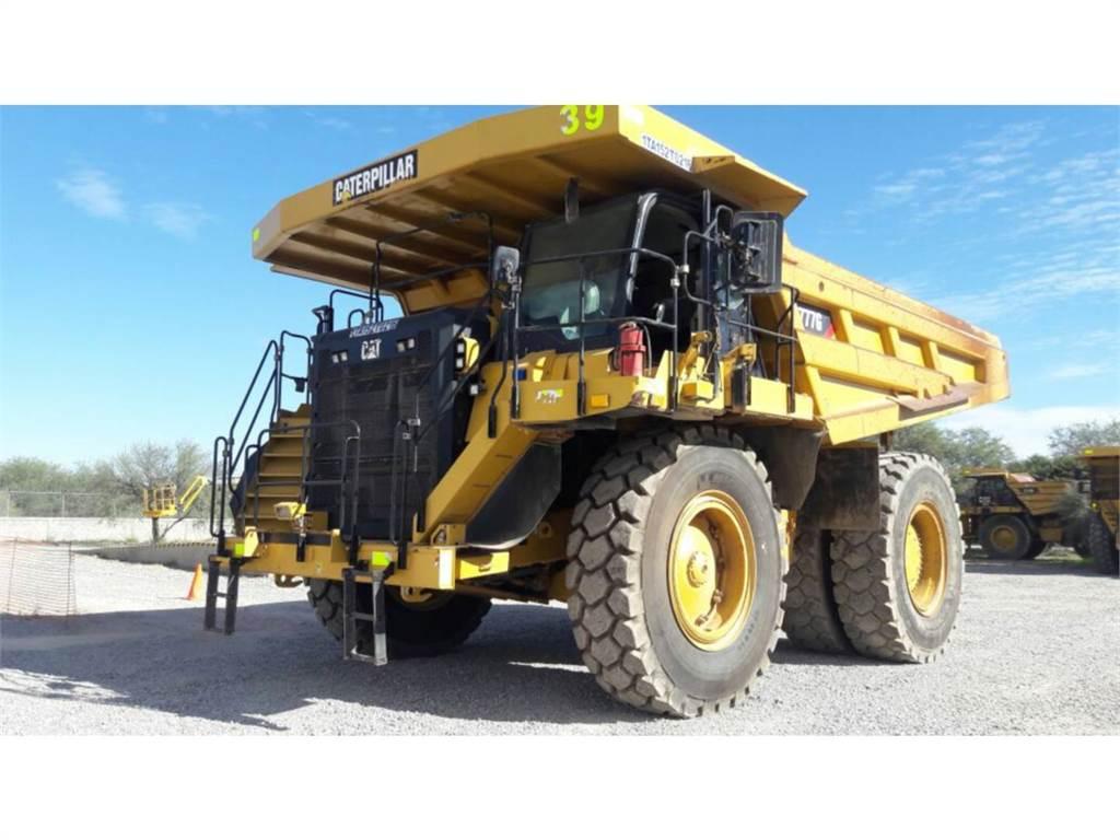 Caterpillar 777GLRC, Articulated Dump Trucks (ADTs), Construction