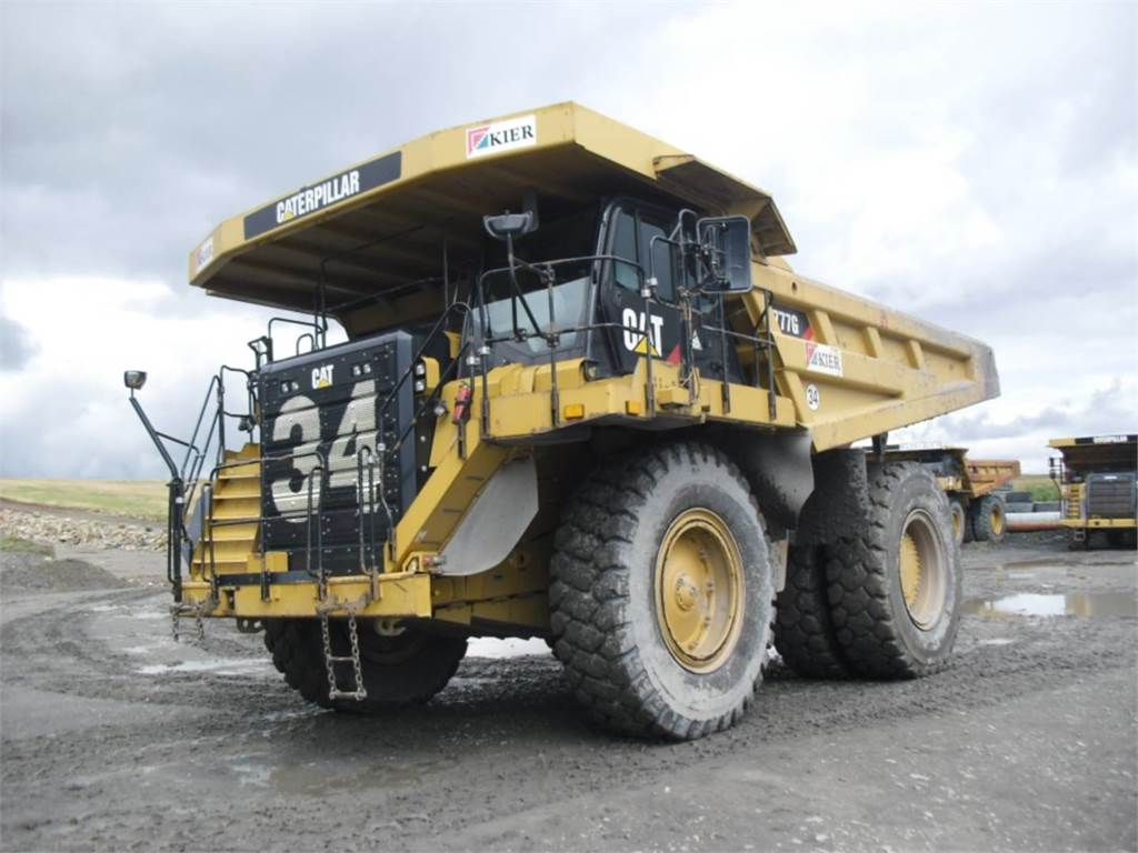Caterpillar 777GLRC, Transportoare articulate, Constructii