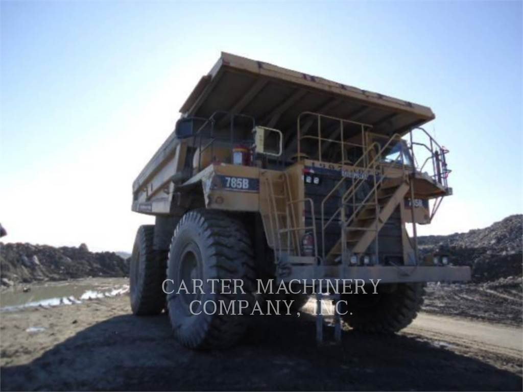 Caterpillar 785B, Articulated Dump Trucks (ADTs), Construction