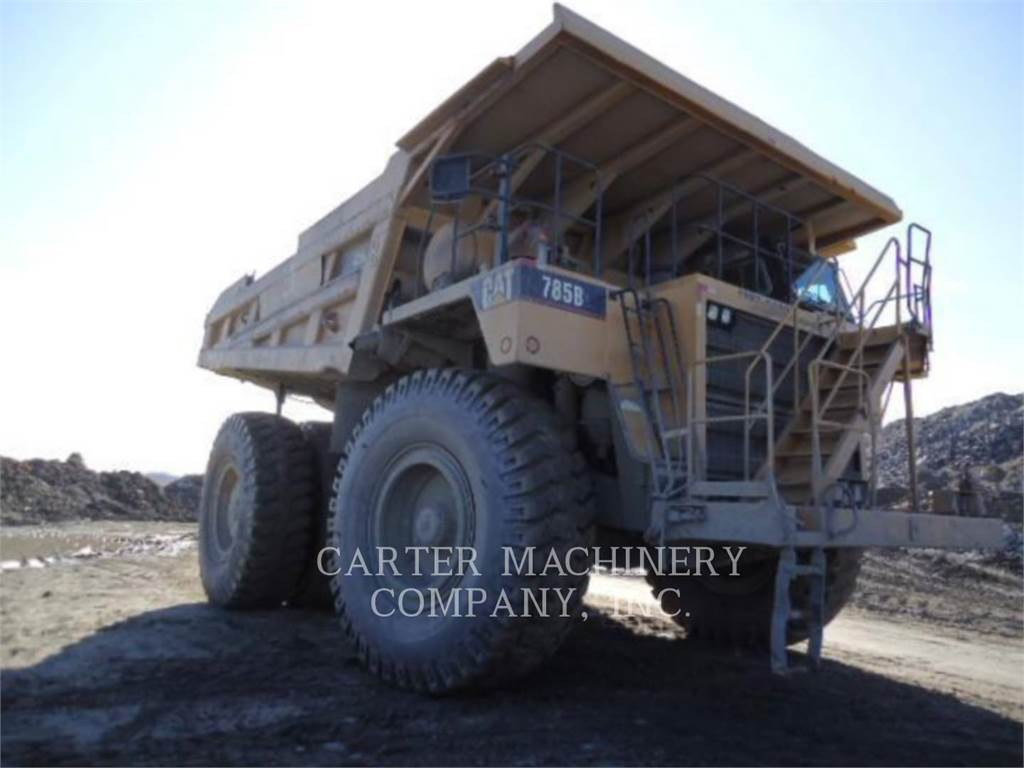Caterpillar 785B, Transportoare articulate, Constructii