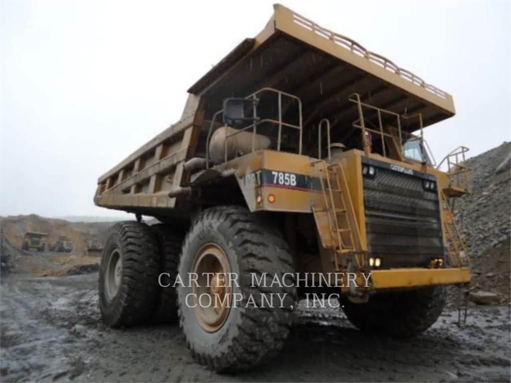 Caterpillar 785B, Dumper - Knickgelenk, Bau-Und Bergbauausrüstung