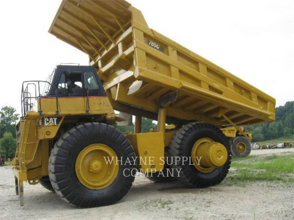Caterpillar 785C, Articulated Dump Trucks (ADTs), Construction