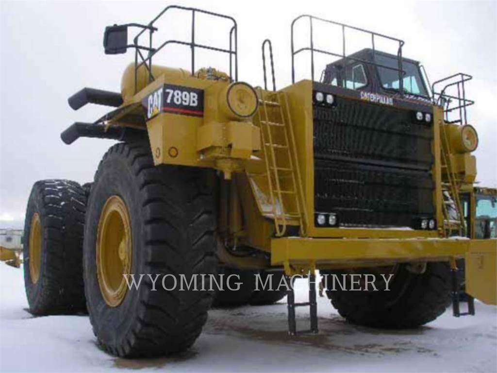 Caterpillar 789B、アーティキュレート式ダンプトラック、建設