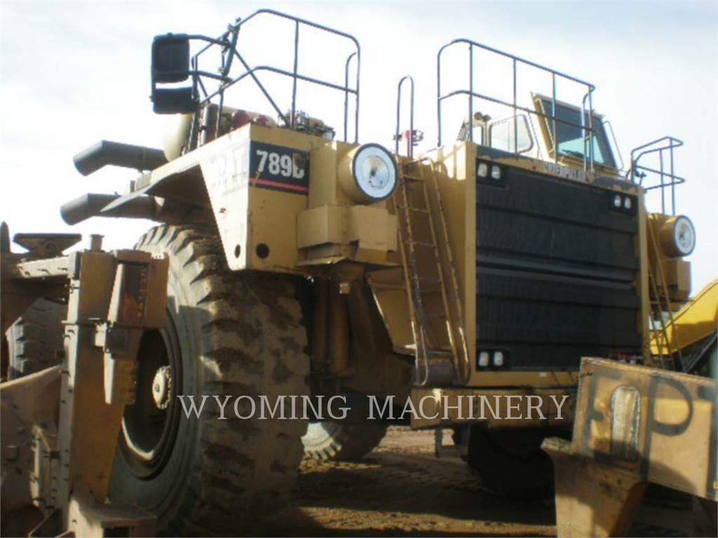Caterpillar 789B, Articulated Dump Trucks (ADTs), Construction
