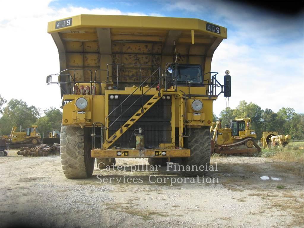 Caterpillar 789C、アーティキュレート式ダンプトラック、建設