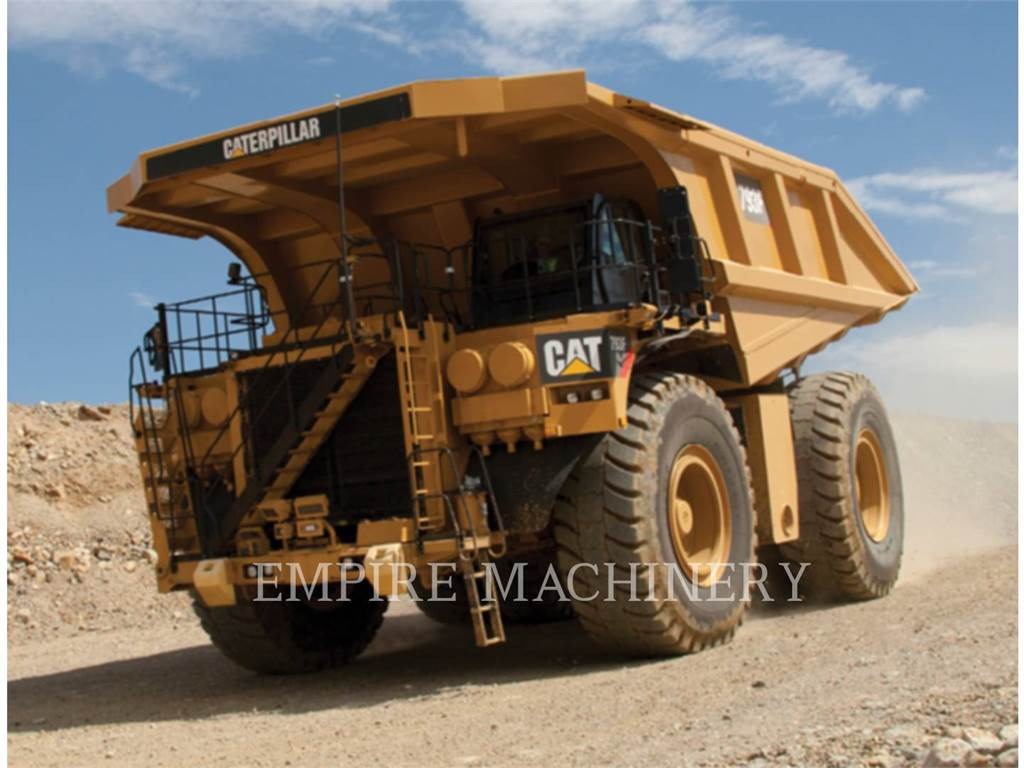 Caterpillar 793F, Articulated Dump Trucks (ADTs), Construction