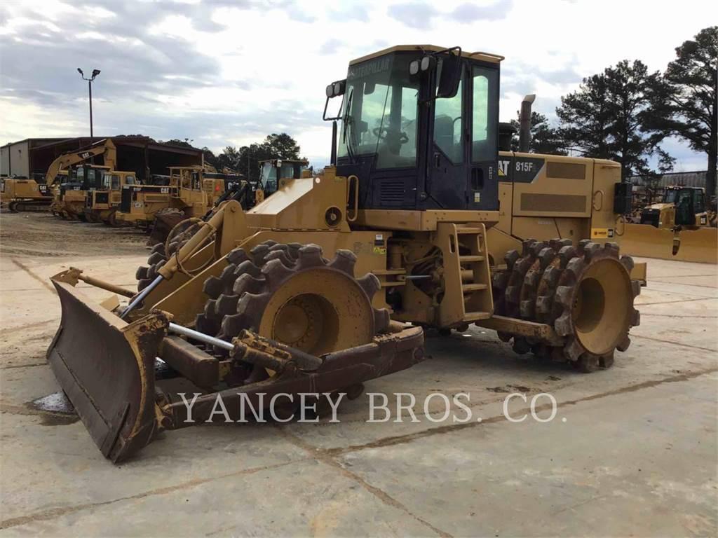 Caterpillar 815, Compactors, Construction