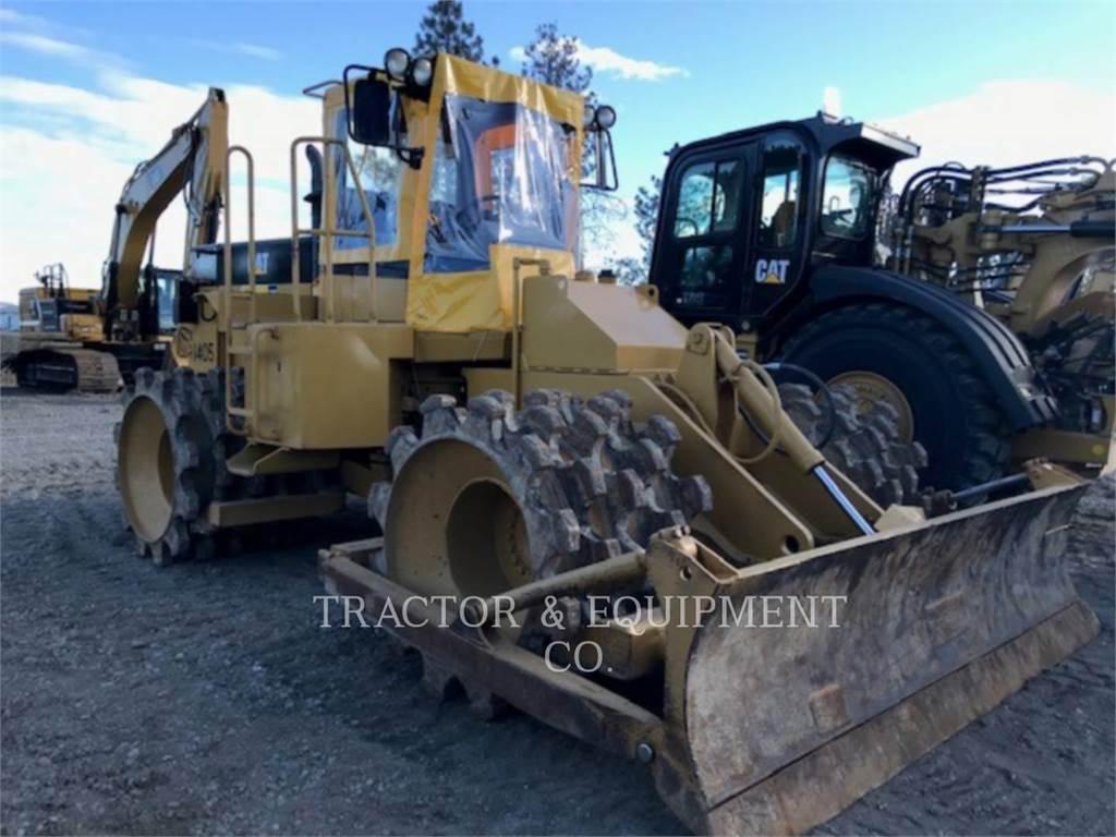 Caterpillar 815, Asphalt pavers, Construction