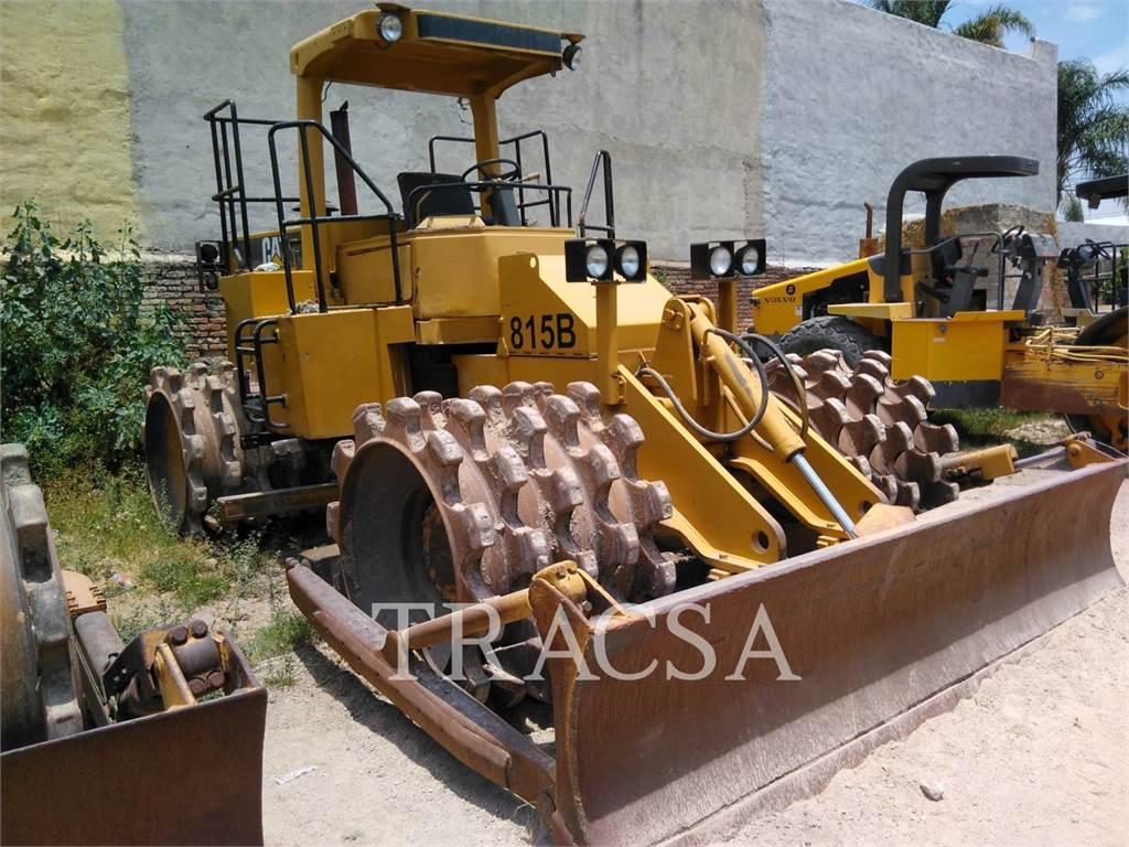 Caterpillar 815B, Compactors, Construction