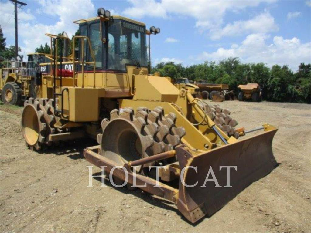 Caterpillar 815F, Compactors, Construction