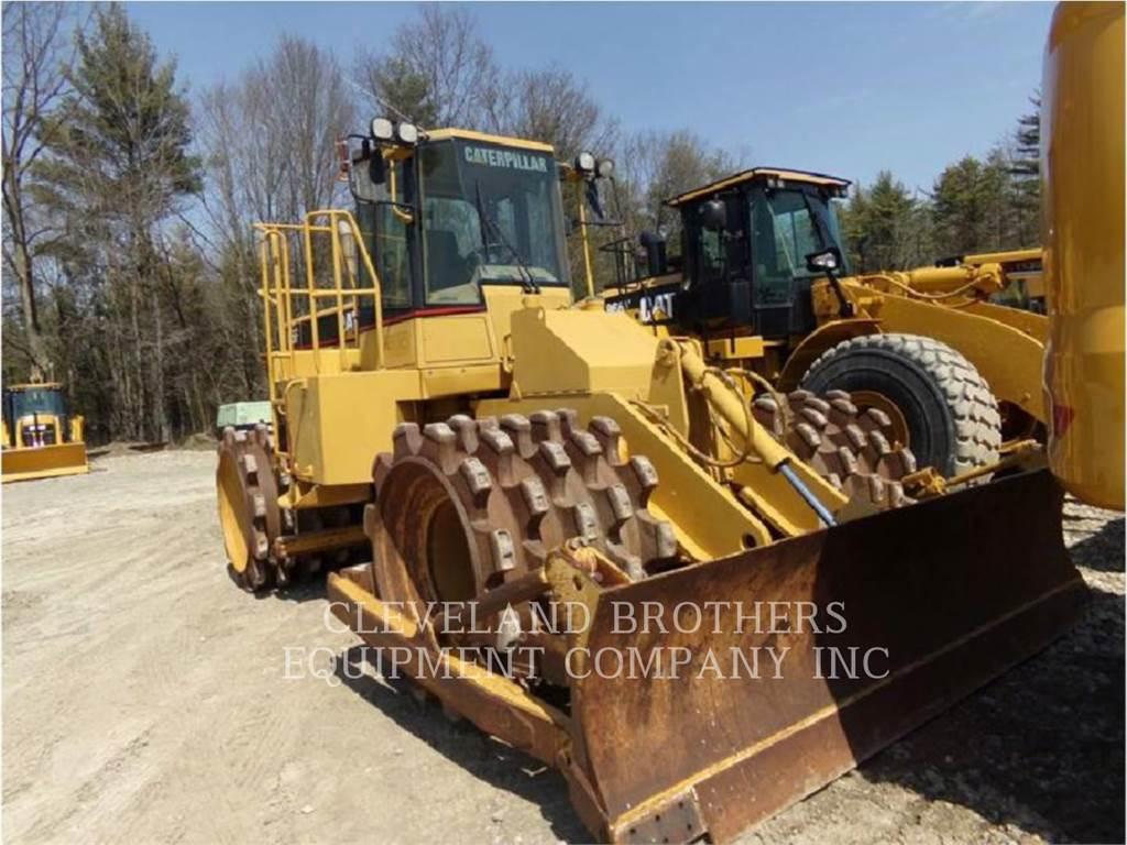 Caterpillar 815F, Müllverdichter, Bau-Und Bergbauausrüstung