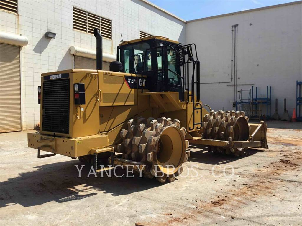 Caterpillar 815F, Waste Compactors, Construction