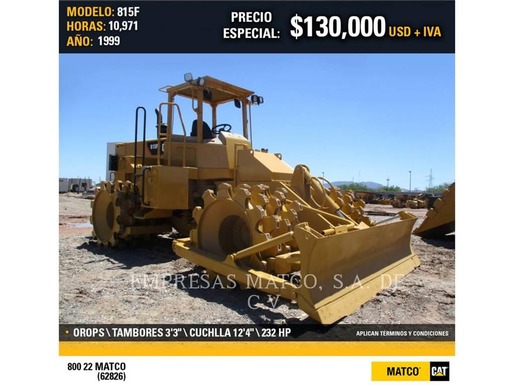 Caterpillar 815F, Waste Compactors, Construction