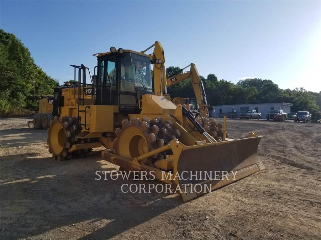 Caterpillar 815F, Asphalt cold milling machines, Construction