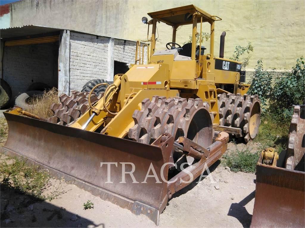 Caterpillar 815F, Compactadores, Equipamentos Construção