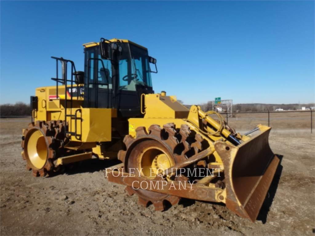 Caterpillar 815F2, Compactors, Constructii
