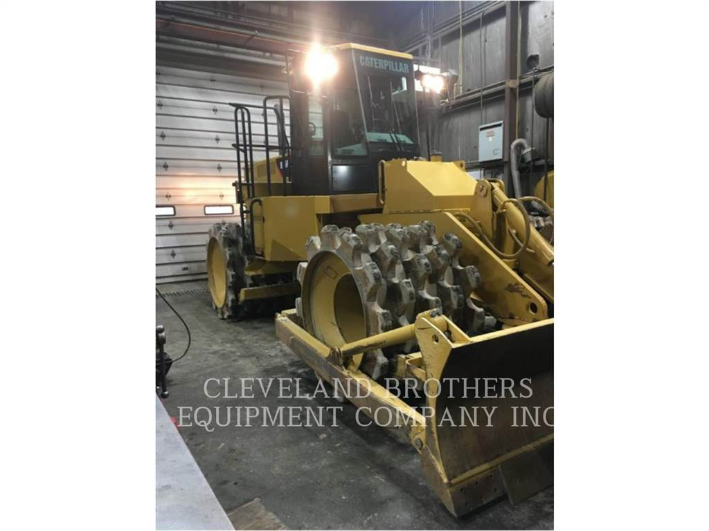 Caterpillar 815F2、土壤压实机、建筑设备