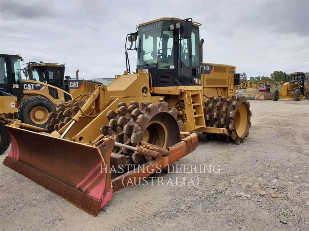 Caterpillar 815FII, Kompaktory, Sprzęt budowlany