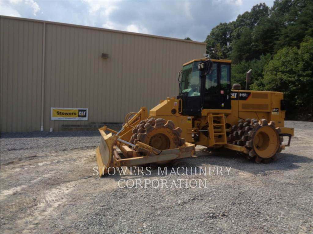 Caterpillar 815FII, Soil Compactors, Construction